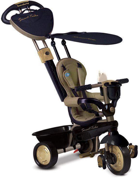 SmarTrike® Dreirad mit verstellbarem Sonnenschutzdach, »Dream 4 Trikes in 1 gold«