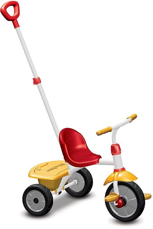 Fisher Price Dreirad mit Freilaufkupplung, »Baby Trike Glee rot gelb«