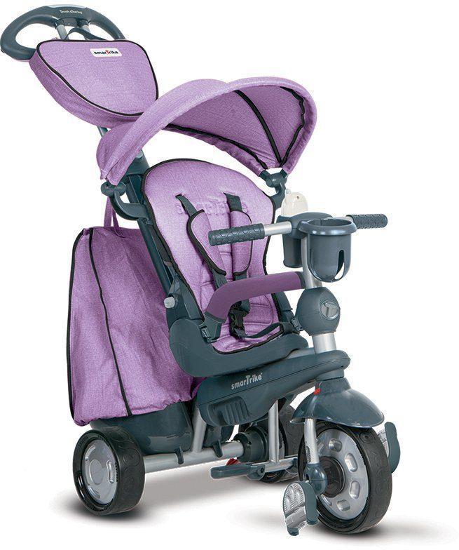 SmarTrike® Dreirad mit verstellbarem Sonnenschutzdach, »Explorer 5 Trikes in 1 lila«