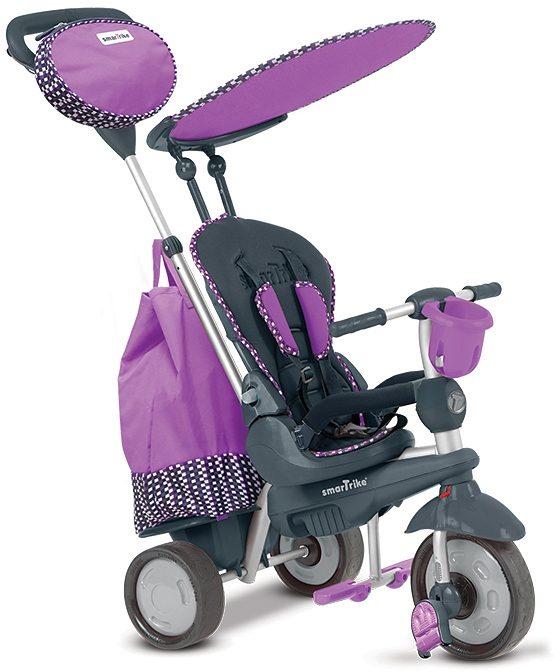 SmarTrike® Dreirad mit abnehmbarem Sonnenschutz, »Splash 5 Trikes in 1 lila«