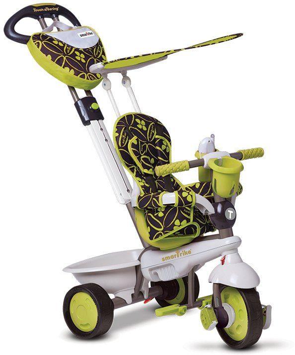 SmarTrike® Dreirad mit verstellbarem Sonnenschutzdach, »Dream 4 Trikes in 1 grün«