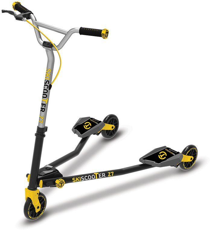 SmarTrike® Kinderroller mit 3 Rädern, »Ski Scooter Z7 gelb«
