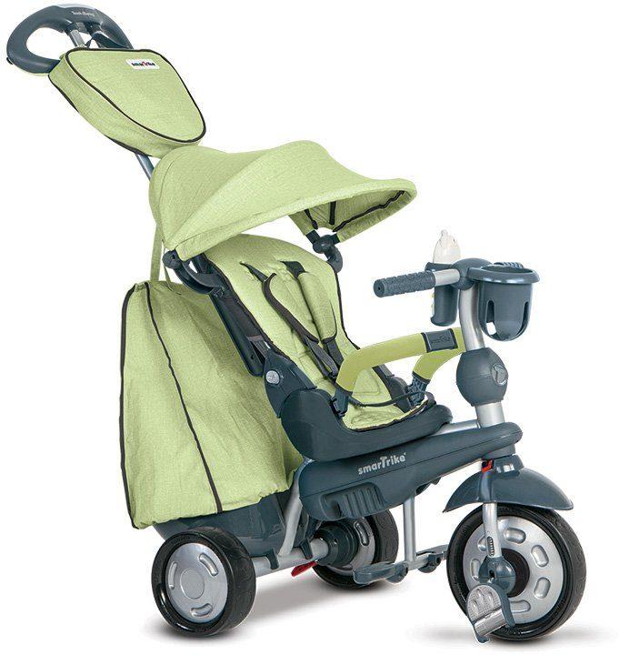 SmarTrike® Dreirad mit verstellbarem Sonnenschutzdach, »Explorer 5 Trikes in 1 grün«