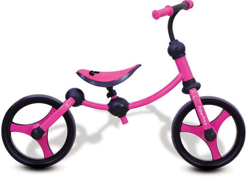 SmarTrike® Laufrad, »Fisher Price Balance Bike pink«