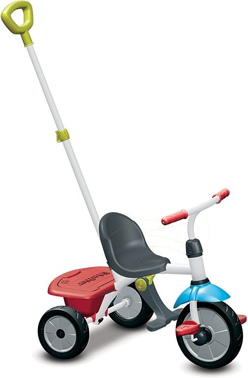 SmarTrike®Dreirad mit abnehmbarer Elternschubstange, »Fisher Price Baby Trike Jolly rot«