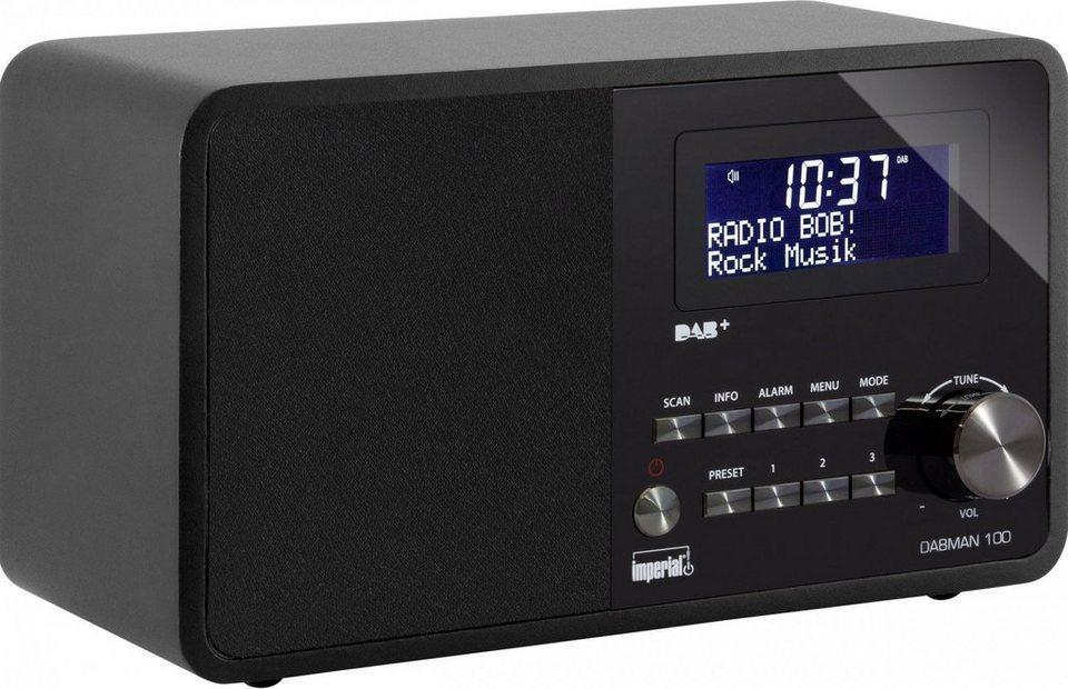 IMPERIAL DAB+ und UKW Radio »DABMAN 100« in schwarz
