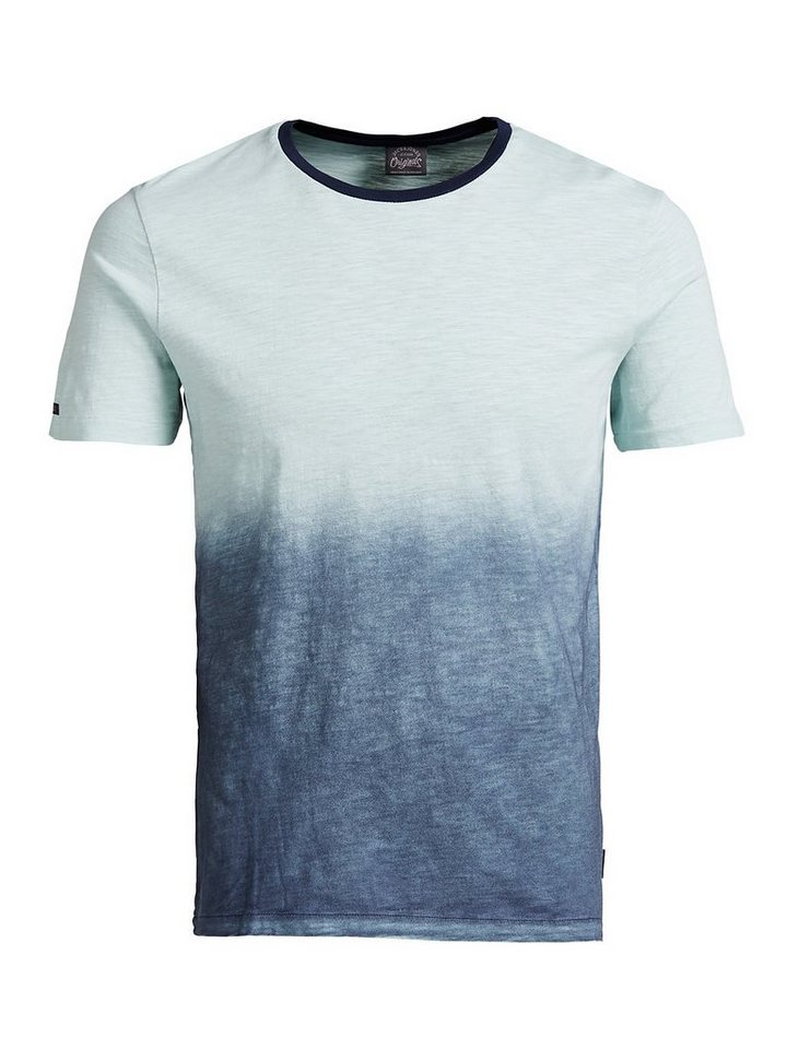 Jack & Jones Farbverlauf- T-Shirt in Surf Spray