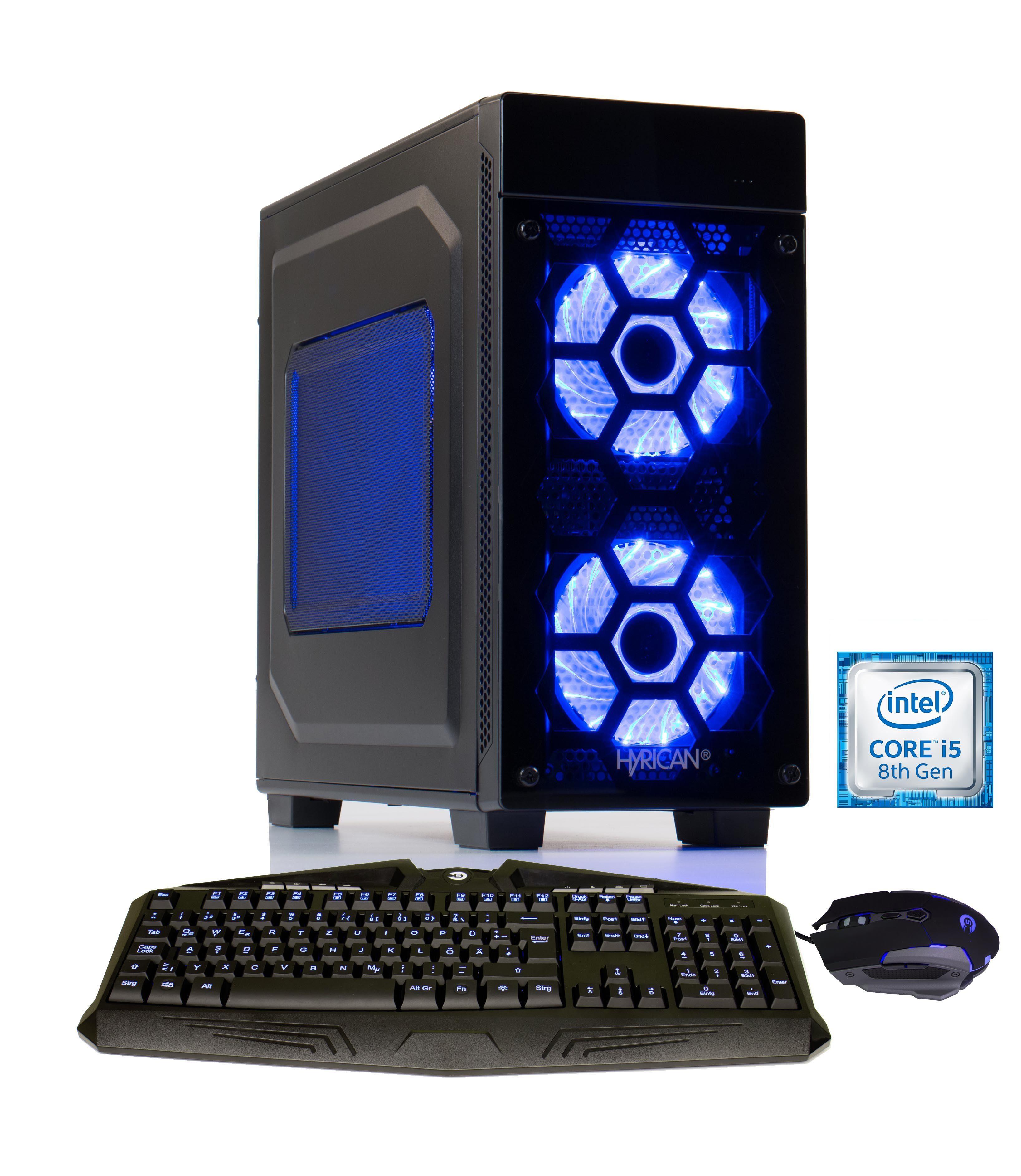 Hyrican Gaming PC Intel® i7-6700K, 32GB, SSD + HDD, GeForce® GTX 1080 »Military Gaming 5188«