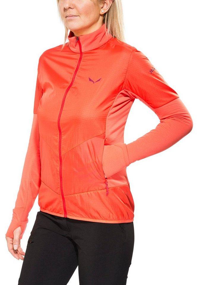 Salewa Outdoorjacke »Pedroc PTC Alpha Jacket Women« in orange