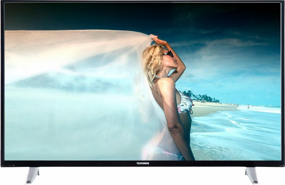 Telefunken D55F287M4CW, LED Fernseher, 140 cm (55 Zoll), 1080p (Full HD), Smart-TV in schwarz