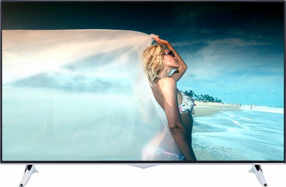 Telefunken L48U500M4CWI, LED Fernseher, 122 cm (48 Zoll), 2160p (4K Ultra HD), Smart-TV in silberfarben/schwarz