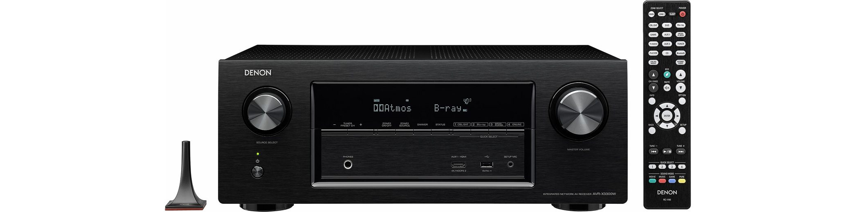 Denon AVR-X3300W 7 AV-Receiver (Hi-Res, 3D, Spotify Connect, Airplay, WLAN, Bluetooth)