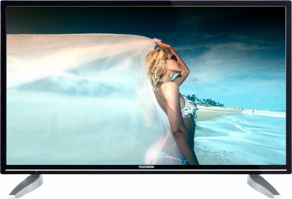 Telefunken D32H286Q3C, LED Fernseher, 81 cm (32 Zoll), HD-ready 720p, Smart-TV in schwarz/silberfarben
