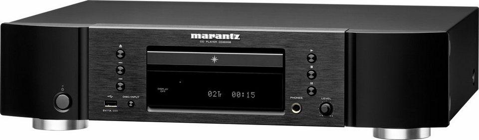 Marantz CD6006 CD-Player in schwarz