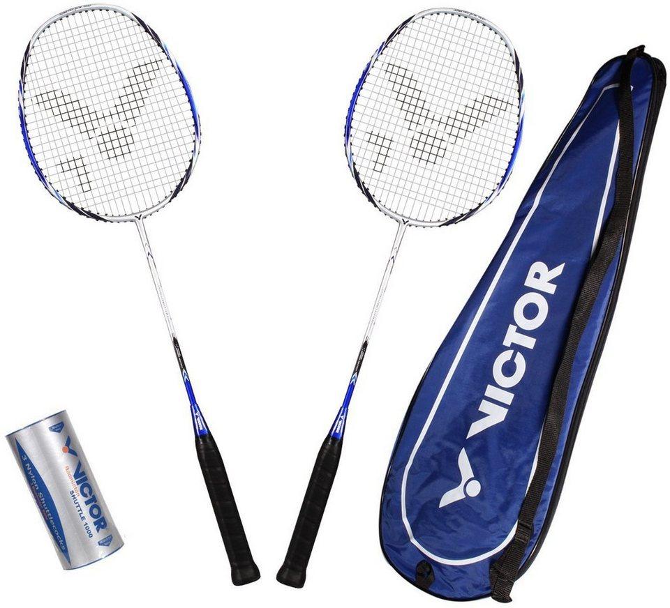 Badminton Set, Victor, »Atomos 600 Set« in blau