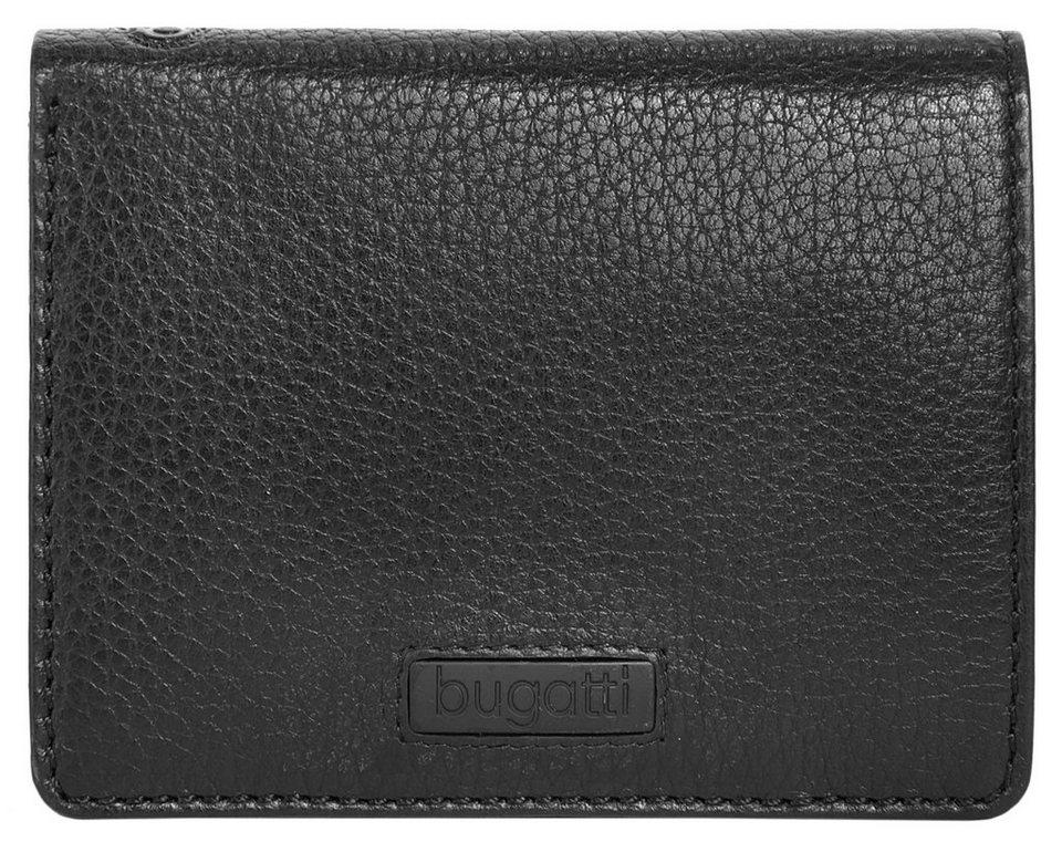 Bugatti Leder Kreditkartenbörse »Pregio« in schwarz