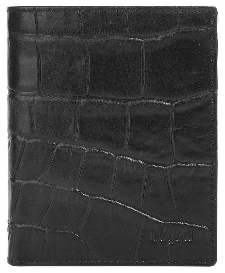 Bugatti Herren Leder Geldbörse »Coco« in schwarz