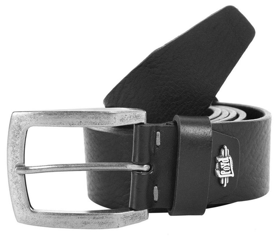 LLOYD Men's Belts Leder Herren Gürtel in schwarz