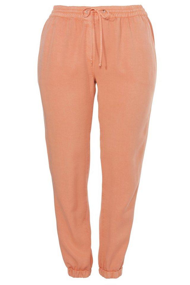 VIA APPIA DUE Hose »im Jogg-Pants-Style« in PAPAYA