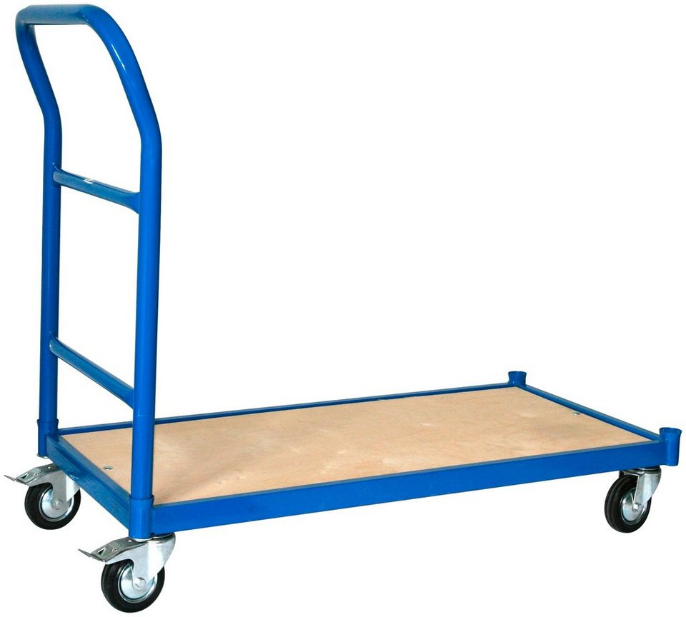 Transportwagen »Professional«, 1 Schiebebügel in blau