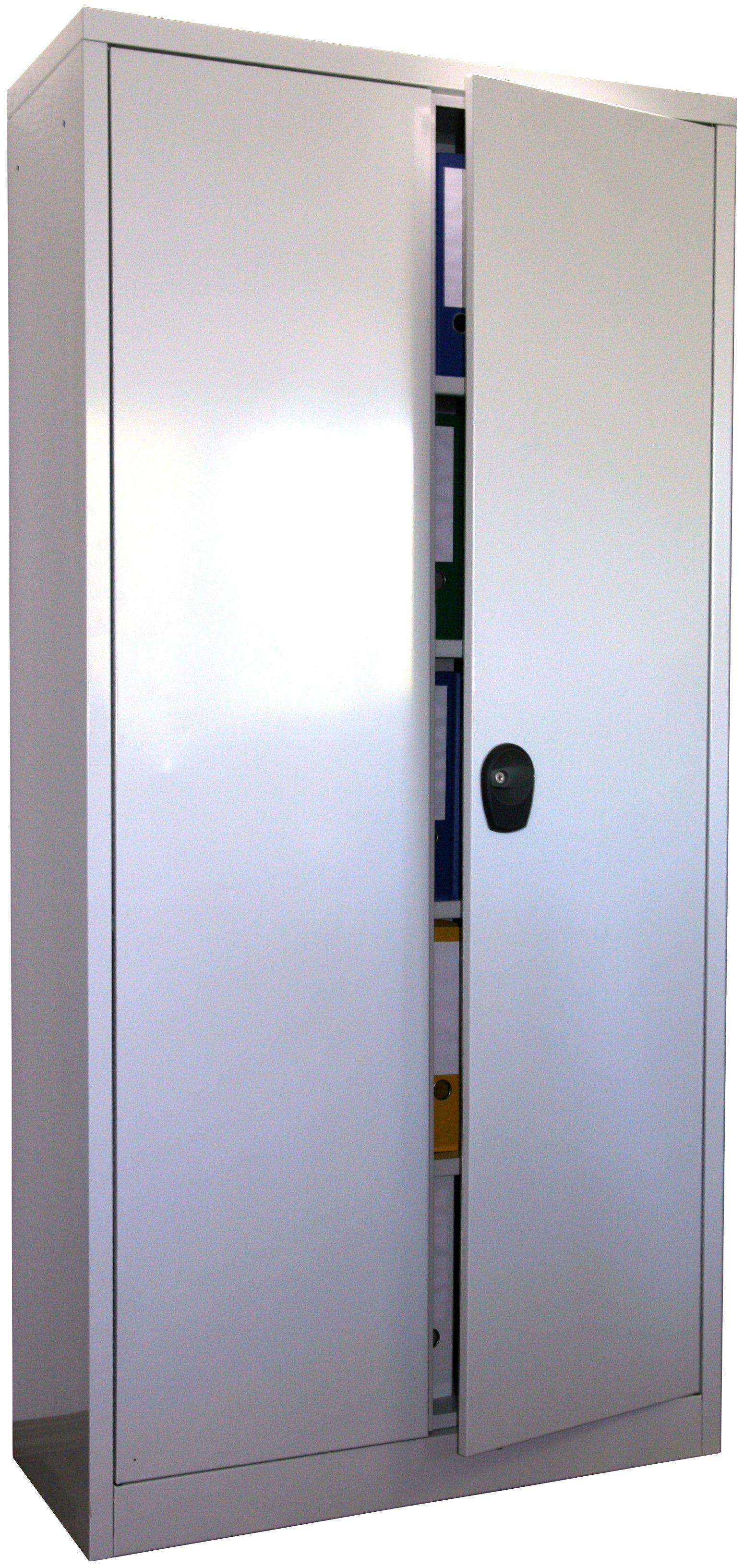 SZ METALL Stahlschrank »lichtgrau (RAL7035)«