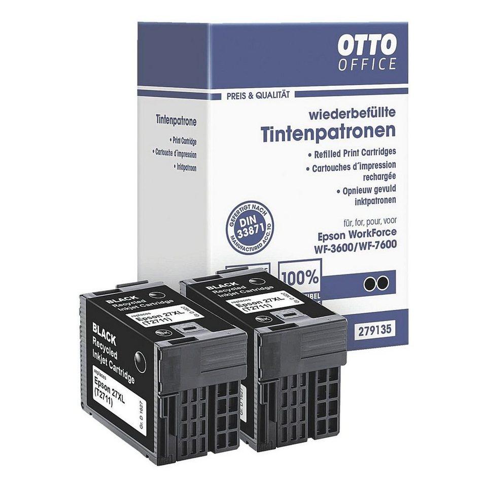 OTTO Office Standard Doppelpack Tintenpatrone ersetzt Epson »T2711 XL«