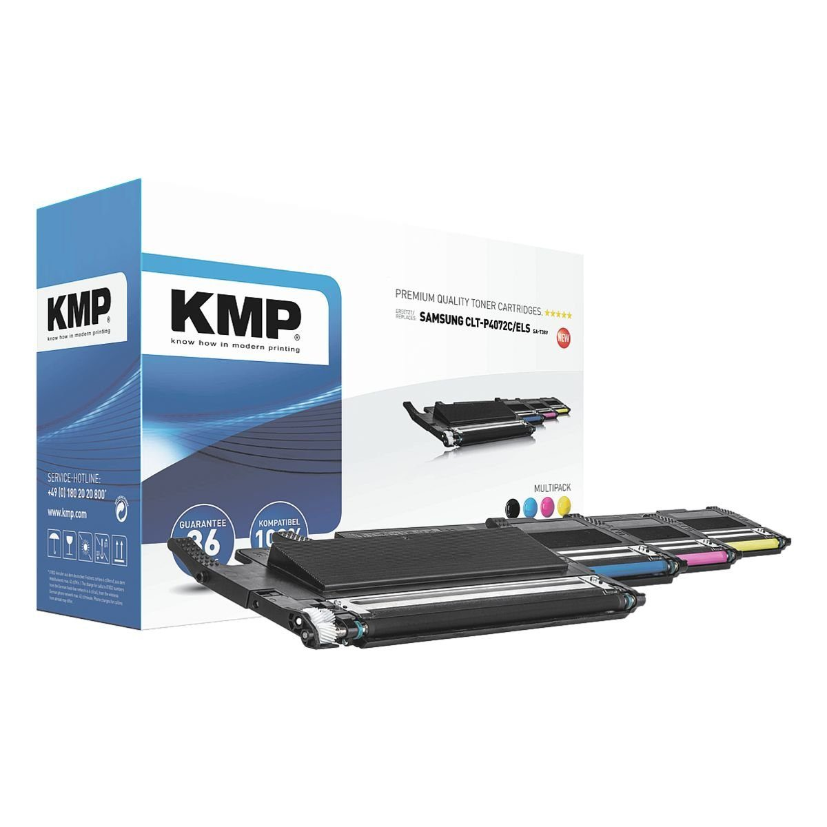 KMP Toner ersetzt Samsung »CLT-P4072C/EL S«
