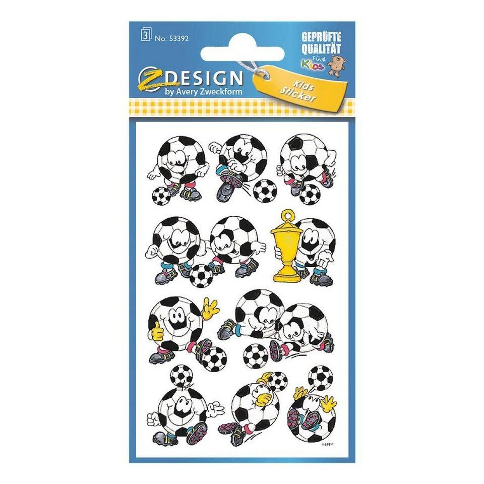 Z-Design Papiersticker »Fussbälle«