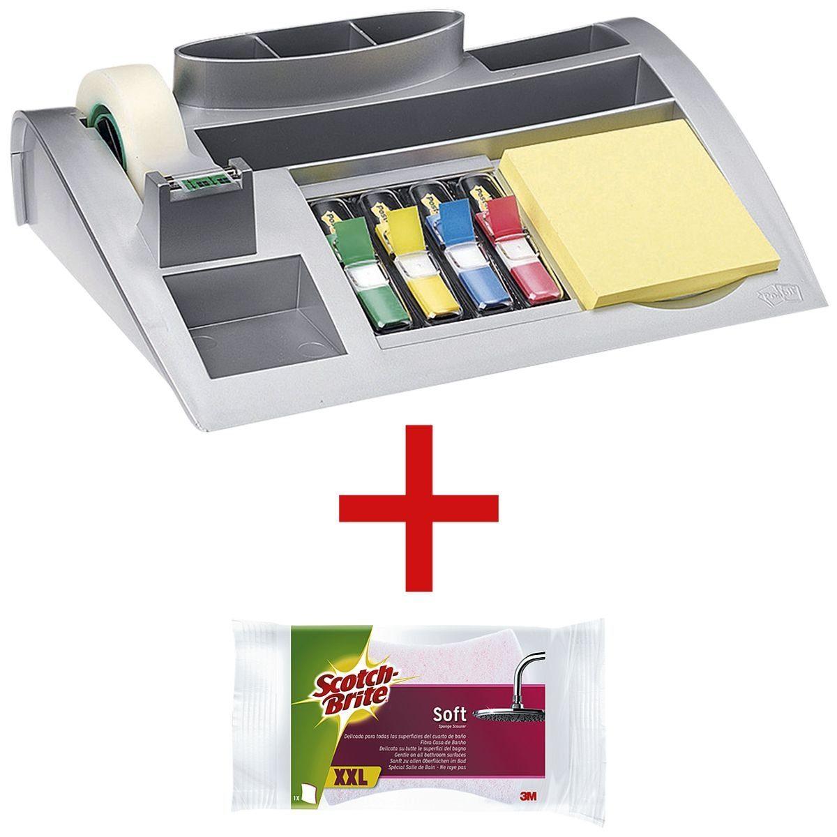 POSTIT Schreibtisch-Organizer inkl. Reinigungsschwamm »Soft« 1 Set
