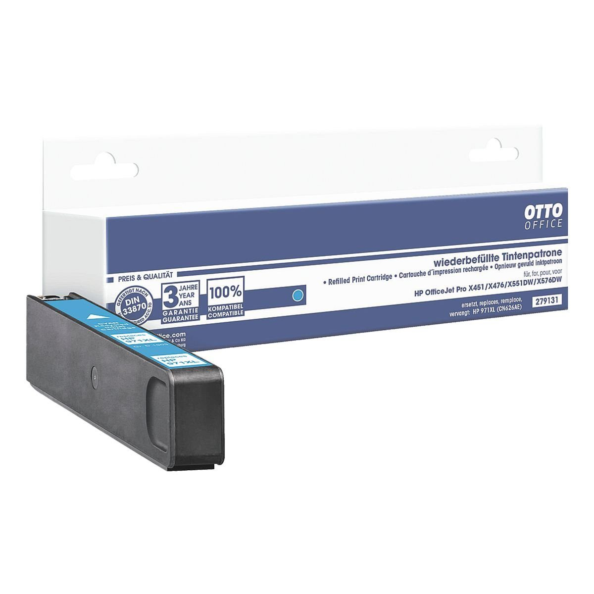 OTTO Office Tintenpatrone ersetzt HP »CN626AE« Nr. 970XL