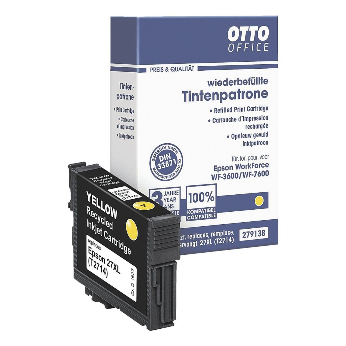 OTTO Office Standard Tintenpatrone ersetzt Epson »T2714 XL«
