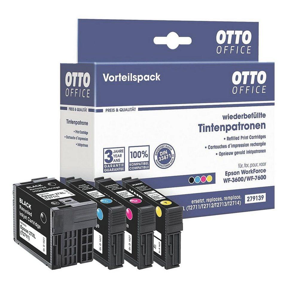 OTTO Office Standard Tintenpatronen-Set ersetzt Epson »T2715 XL-Set«