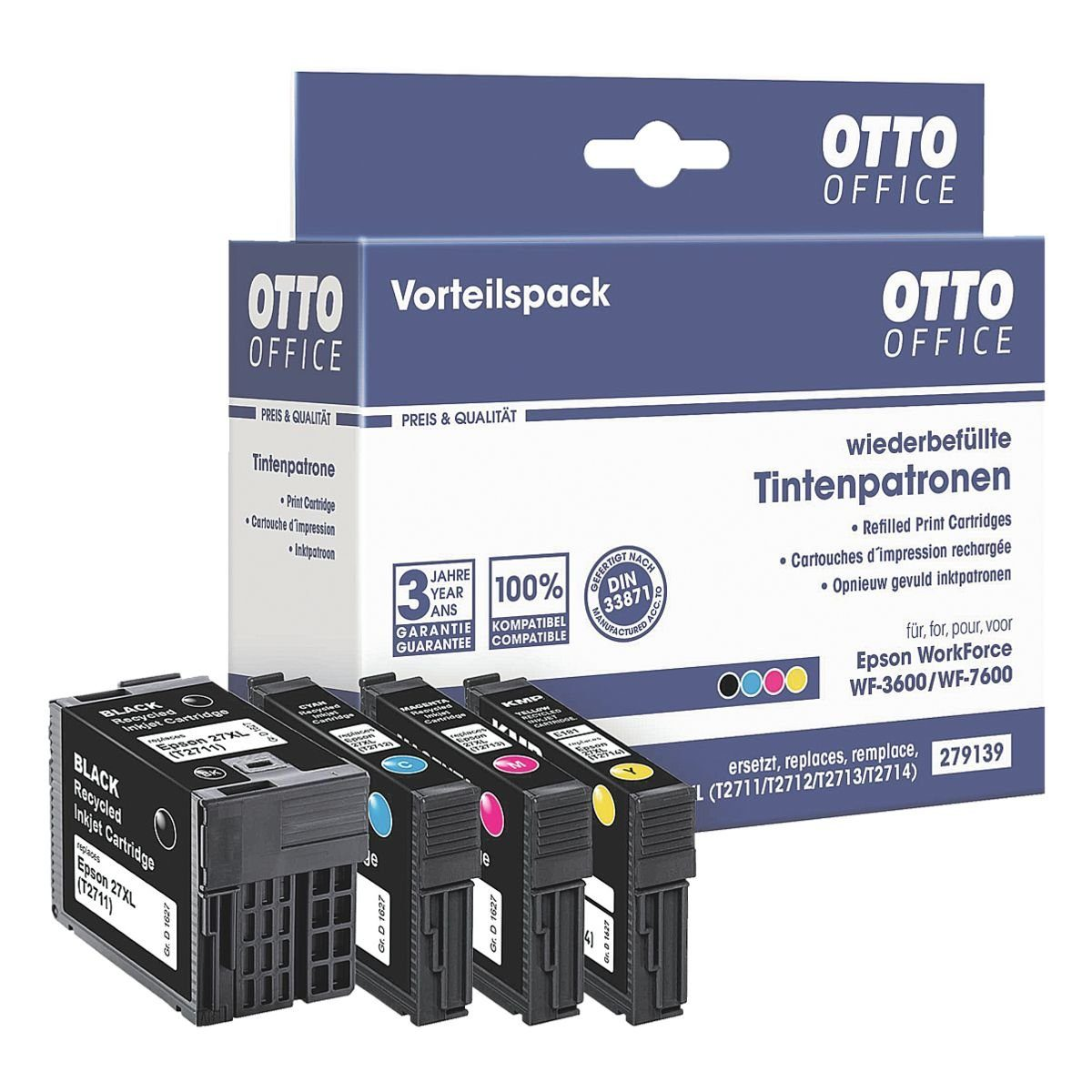 OTTO Office Tintenpatronen-Set ersetzt Epson »T2715 XL-Set«