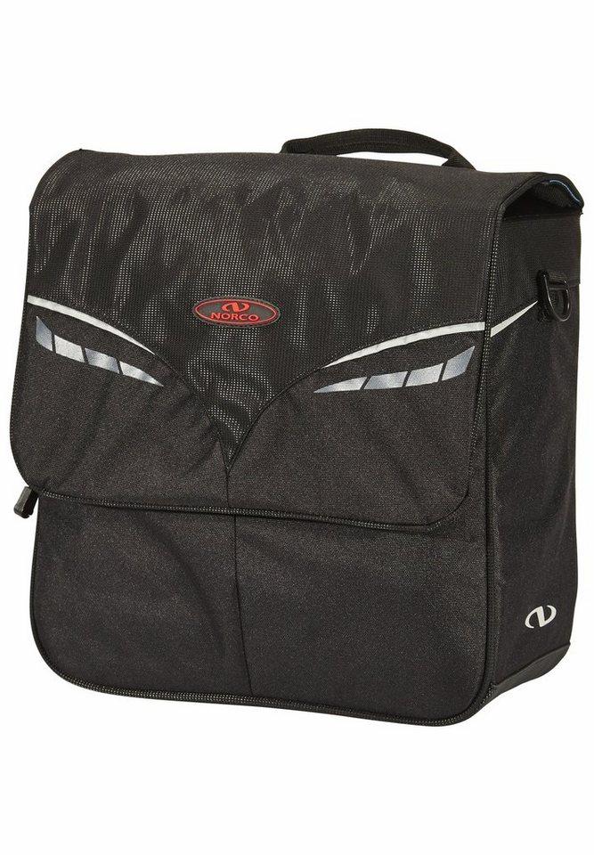 Norco Gepäckträgertasche »Boston City Tasche schwarz«