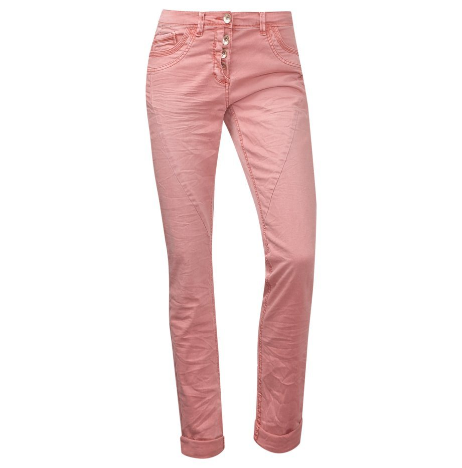 CECIL Tapered-Leg Hose New York in smooth peach