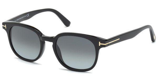 Tom Ford Herren Sonnenbrille »Frank FT0399«, braun, 56N - braun/grün