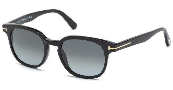 Tom Ford Sonnenbrille »Frank FT0399« in 01N - schwarz/grün