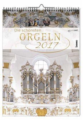 Kalender »Die schönsten Orgeln 2017 ohne CD«