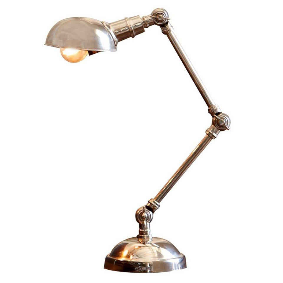 Loberon Tischlampe »Toulon« in antiksilber