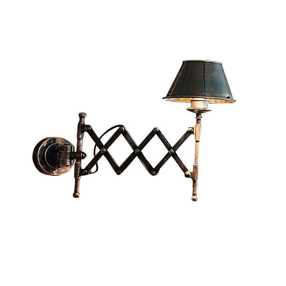 Loberon Wandlampe »Quimper« in antiksilber