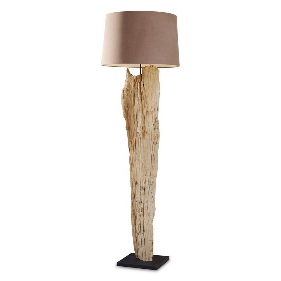 Loberon Stehlampe »Marshfield« in braun