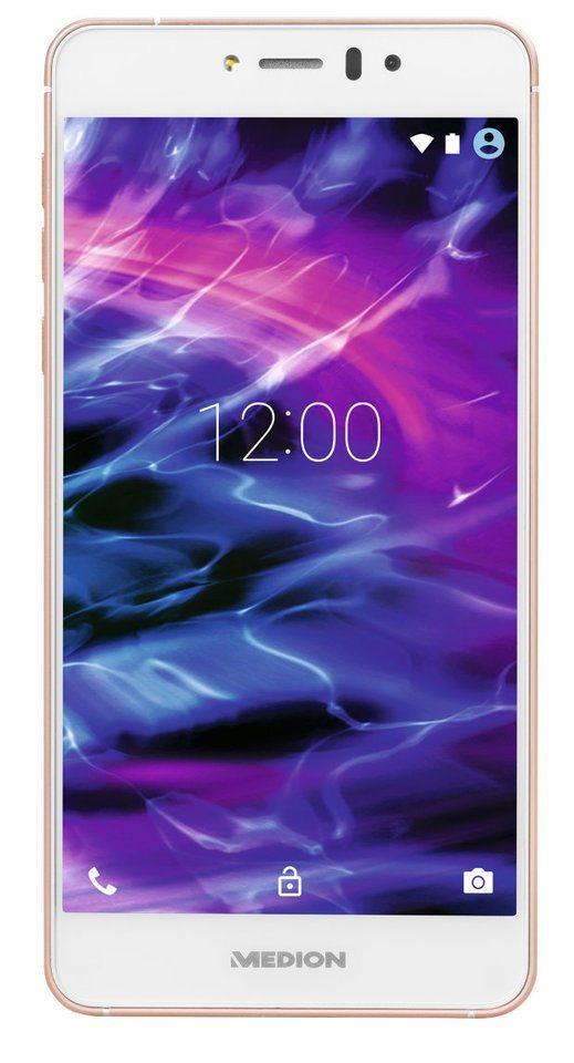 "MEDION® 12,7 cm (5"") Smartphone LIFE® X5020 »1,5GHz Octa-Core Prozessor, Full HD, 13MP Kamera« in Gold"