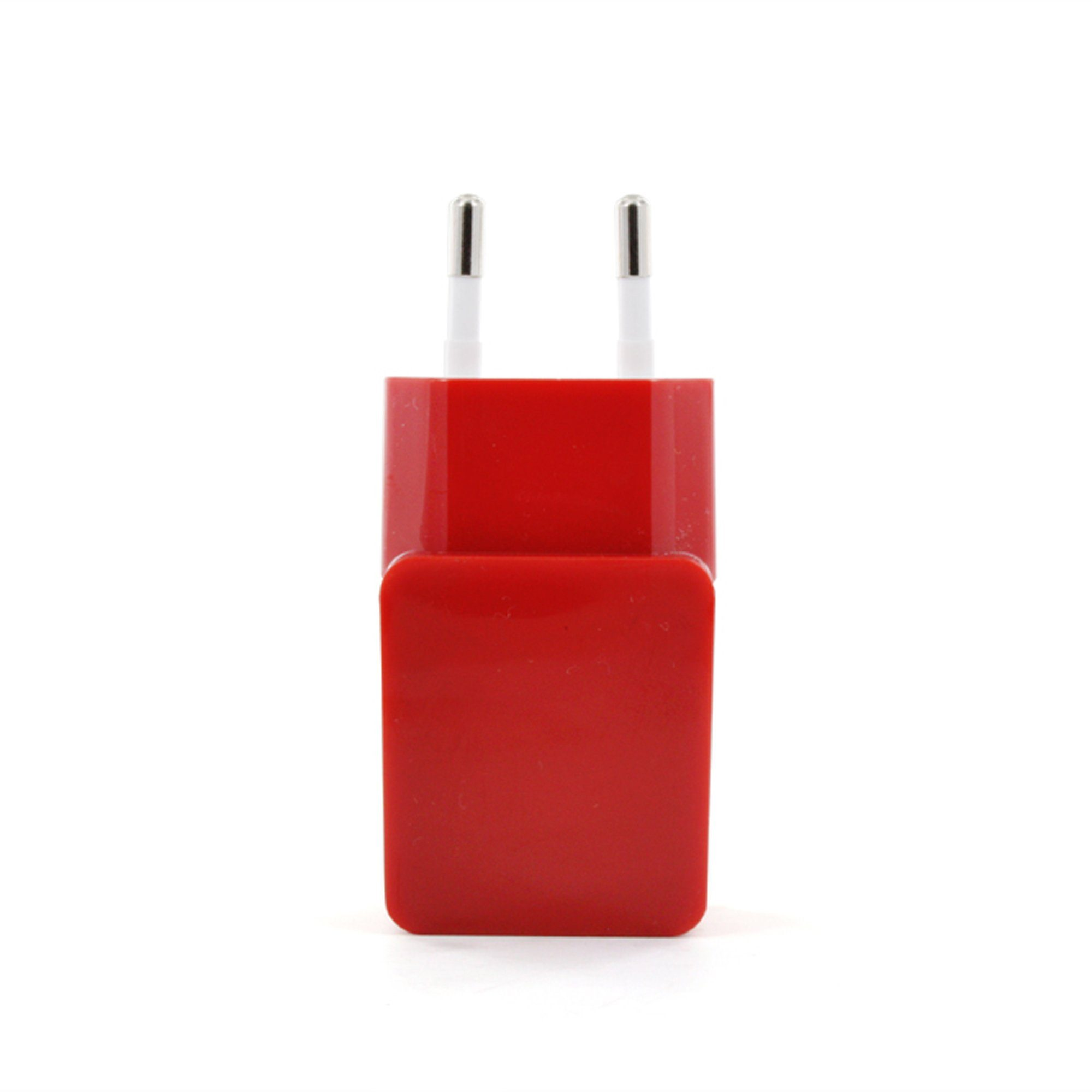 connect IT Ladegerät »IT Colour Line USB Netzteil 1A Rot«