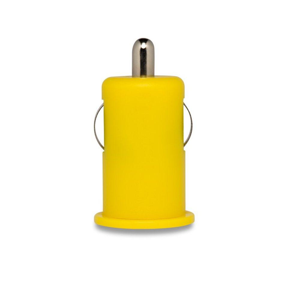 connect IT KFZ-Ladegerät »IT Colour Line USB Adapter 2.1A Gelb«