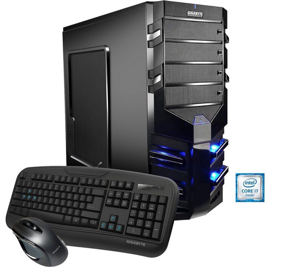 Hyrican Gaming PC Intel® i7-6700K, 32GB, SSD + HDD, GeForce® GTX 1080 »Alpha Gaming 5199«