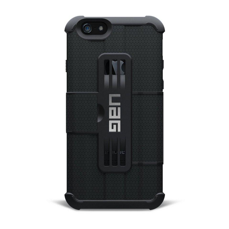 UAG Hartschale für iPhone 6/6S (4,7 Zoll) »Folio Case« in Schwarz