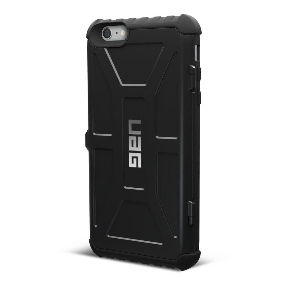 UAG Hartschale für iPhone 6/6s (4,7 Zoll) »Trooper Card Case« in Schwarz