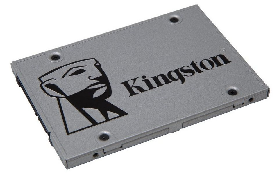 "Kingston Festplatte »SSDNow UV400 Solid-State-Drive, 2.5"", 480GB« in Silber"