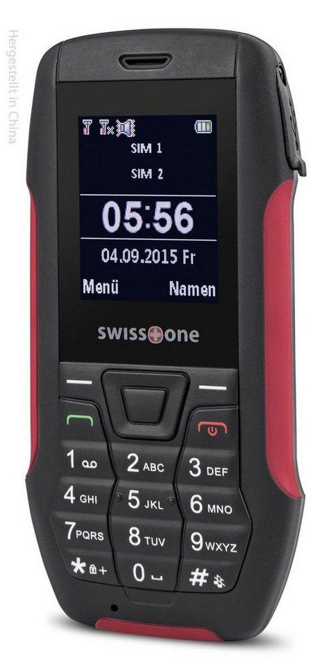 swisstone Handy »SX 567« in Rot-Schwarz