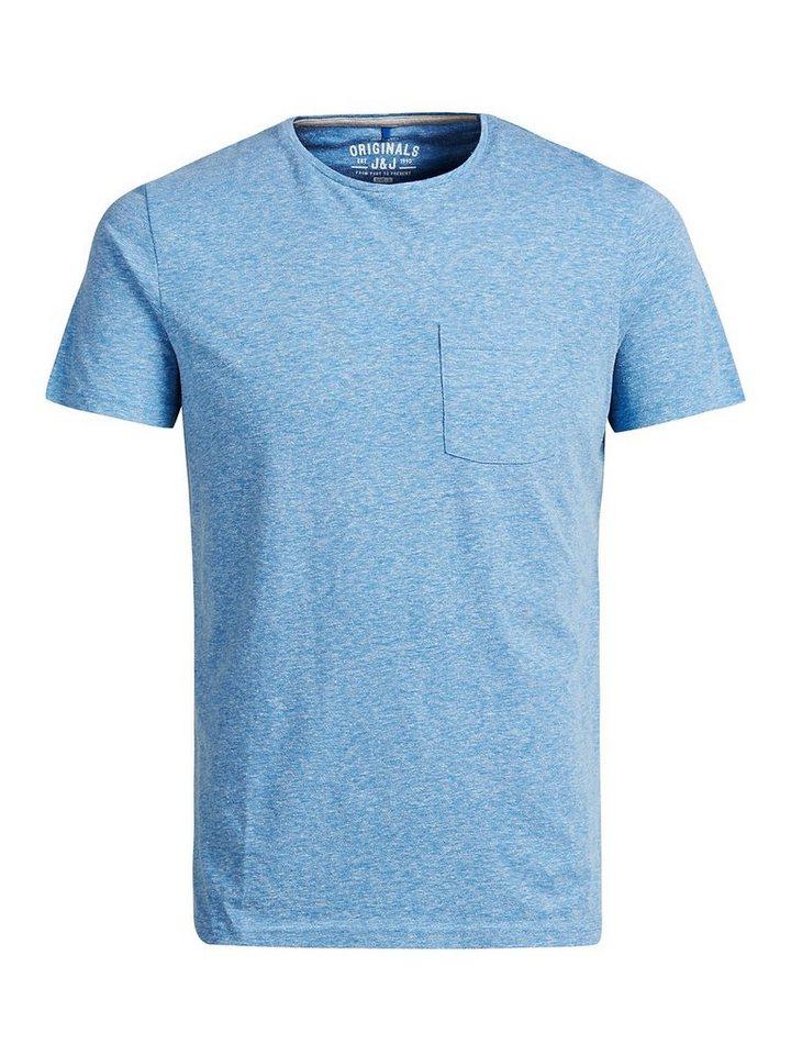 Jack & Jones Lässiges T-Shirt in Mykonos Blue 1